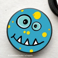 Magnet Bubble Monster blau