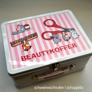 Beautykoffer Deluxe Pink #2