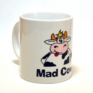 Mad Cow - Handspültasse!