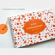 Rezeptbuch Ringe Orange
